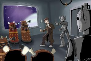 Doctor Who by BoukenRed