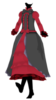 MMD Dress Commission Done + Timelapse Video by 2234083174