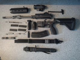 HK 416 Disassembled by Operationtk