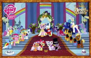 Canterlot Wedding 300dpi scan by noval