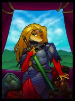 Fluffweina in Armor by MarkMoore