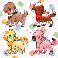Sweet Puppies OTA (closed, payment pending) by ForeverFluffyAdopts