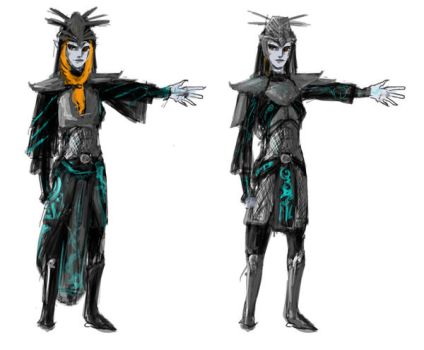 Midna Concept Armor by silverwolf05
