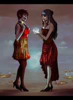 Commission: White Lotus by Marina-Shads