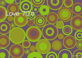 love 70's by thinkart