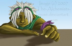 Speedpaint- Boredom's killer by The-Alchemists-Muse
