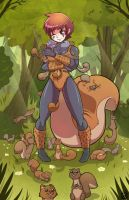 Squirrel Girl by ChachaBingbing