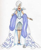 Yue Winter Pageant Dress by Jamethial