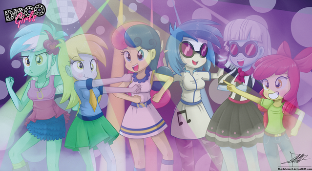 .:DISCO Girls:. by The-Butcher-X