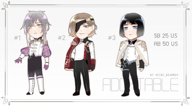[CLOSED] Adopt Auction SET #1 by RNbeammer