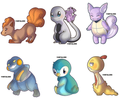 :POKEMON: Hatched eggs! by Celerere