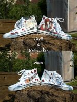 Grell and Undertaker Shoes by Ruepelwelpe