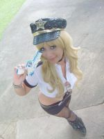 A sexy police officer by cake-land