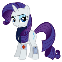 Rarity Vector - Healer by Anxet