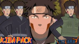 Naruto UNS3 - Kiba Pack FOR XPS by ASideOfChidori
