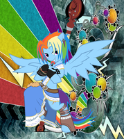 Rainbow Dash Soldier, The Greatest Concept by BlackfeetSinopaa