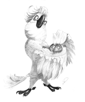 Rio: Nigel the cockatoo by DrawingArtist3D