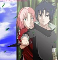 SasuSaku: I'll protect you by Sakuritha97