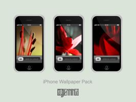 Abstract Flowers iPhone Pack by Ben-Is-A-Designer