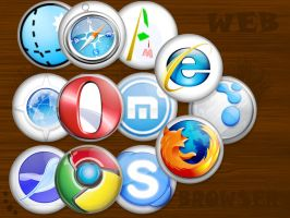 Browser Pinned by Yondita
