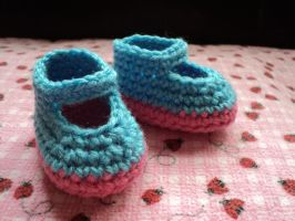 cotton candy shoes by Brookette