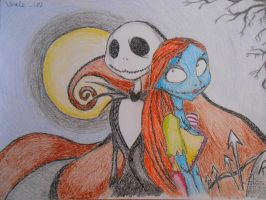 Nightmare Before Christmas - Jack and Sally by Wale-182