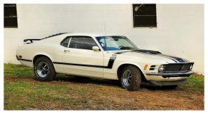 1970 Boss Mustang by TheMan268