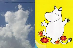 Moomin by Molamola
