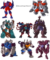 Beast Wars Sourcebook 2 and 3 by benjaminmaier