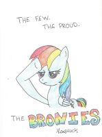 The few. The proud. The BRONIES. by xxLovestruck