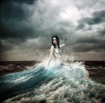 Lady of the sea by oloferla