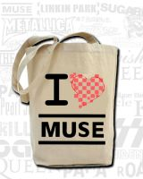 Muse Tote bag design by TeapotMysteries