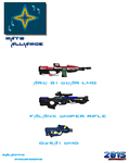 Weapon Concepts Alliance Weapons 1 by Luckymarine577