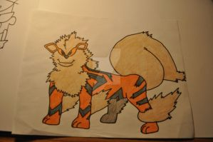 Arcanine by the-shmegster