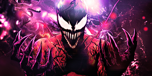 Carnage/Venom idk what is xD by fesell