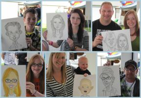 Caricature Booth by LyleDoucetteArt