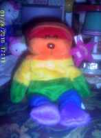 Stoney the Rainbow Bear by AnnieSmith