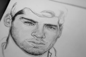 zayn malik work in progress by Bluecknight