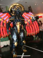 Cosplay Catwalk Top Three 1st Place Bahamut by SlashSlashX