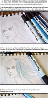Letraset Promarker Blending Tutorial by vaoni