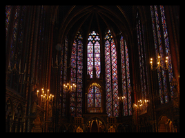 Sainte Chapelle III by BluePalmTree