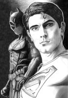 Superman and Batman by GraphixRob