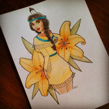 Tiger Lily by Weirdness