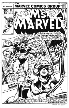 Ms. Marvel #19 Cover Recreation by dalgoda7
