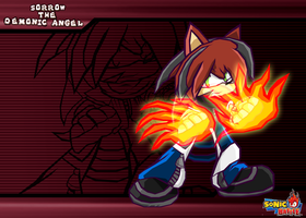 :COMM: Sorrow -Sonic Battle- by Cerberean