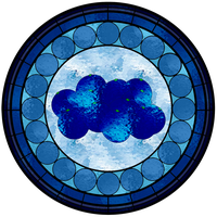 Blueberry Stained Glass Window by FluidGirl82