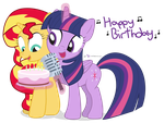 Happy Birthday, Sunlight Singer by dm29