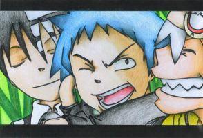 Soul Eater -I only colored- by Catt-Nightingale
