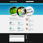 HTML5 template - Consulting by DarkStaLkeRR