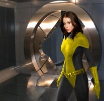 Kitty Pryde by QWoods